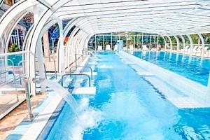 Hévíz: Hotel Aquamarin *** s termálními bazény a saunami neomezeně + polopenze...