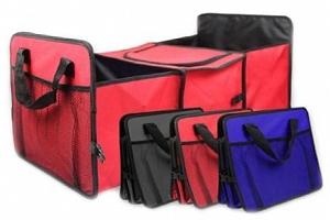 Praktický organizér do kufru auta Vám bude dobrým pomocníkem při cestách autem....