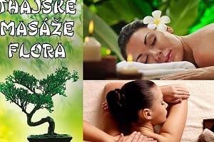 50% sleva na masáž v Thajské masáže Flora...