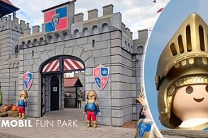 Sobotní výlet do zábavního parku Playmobil Fun Park v Německu...