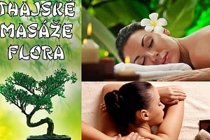 Thajské masáže Flora - masáž od profesionálních rodilých Thajek...