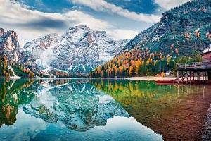 Špičkový wellness pobyt v italských Dolomitech...