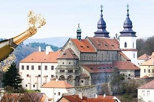 Silvestrovský pobyt pro dva v Grand Hotelu Třebíč s polopenzí a bazénem...