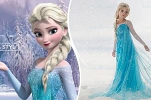 Ledové království: dívčí kostým 110-140 cm či set s korunkou...