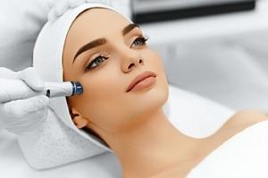 Lifting 1 nebo 3 oblastí mikrojehličkováním + lymfatická masáž...