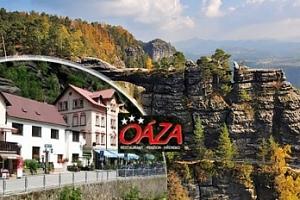 Podzim/zima v Českém Švýcarsku na 3-6 dní pro dva s polopenzí...