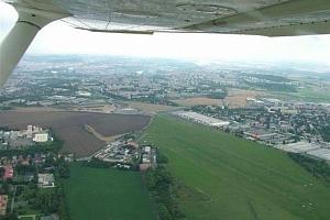 Vyhlídkový let nad Prahou...