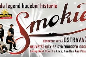 1+1 lístek zdarma na SMOKIE - THE SYMPHONY TOUR 2018 v Ostravě, 3.12.2018...