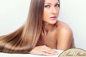 Kadeřnictví: prodloužení a zahuštění pravými vlasy 40-60 cm...