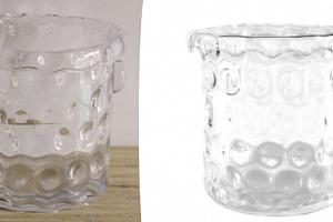 skleněná chladící nádoba...