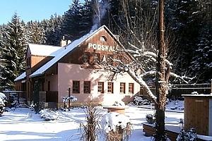 Pobyt pro dva, rodinu či přátelé v Penzionu Podskalí. Pobyt s možností lyžování, sáňkování aj....
