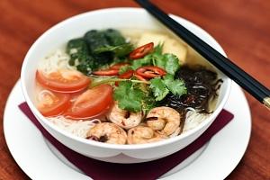 Vietnamská restaurace Chopstix - 3-chodové asijské menu pro dva...