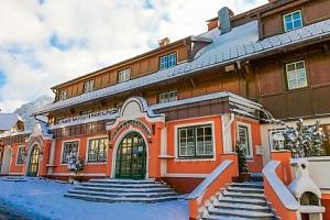 Rakouské Alpy: Hotel Tauplitzerhof *** přímo u vleku s polopenzí a saunou...