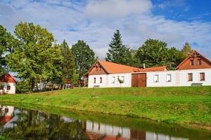 Jižní Čechy v resortu Andělský Dvůr s polopenzí, grilem a vyžitím pro děti...