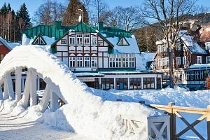 Štědrý den ve Špindlerově Mlýně: 5 dní přímo ve skiareálu Svatý Petr...