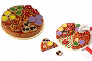 Pizza na krájení, dřevěná, KX7728...