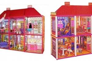Domeček pro holčičky + panenka...