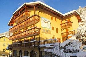Italské Alpy v rodinném Hotelu Dolomiti *** u přírodního parku s polopenzí...