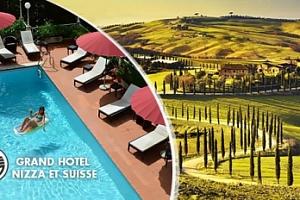 Luxusní Toskánsko na 6 dní pro dva s polopenzí a bazénem...