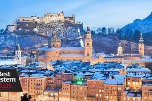 Pobyt**** v Salzburgu na 3 či 4 dny pro dva + snídaně a wellness...