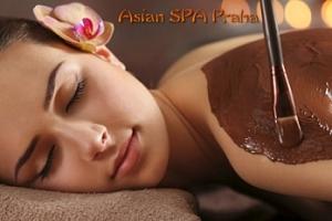 Thajská čokoládová relaxační masáž pro 1 osobu u metra Anděl...