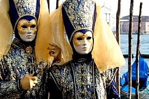 3denní zájezd na legendární karneval do Benátek pro jednoho, rej masek, prohlídka města s průvodcem....