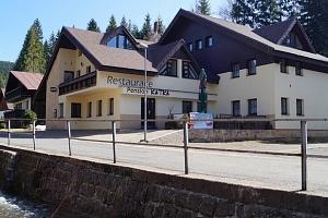 Penzion Katka v Harrachově přímo u ski areálu s polopenzí...