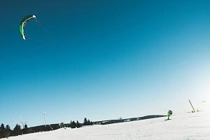 Základní kurz snowkitingu...