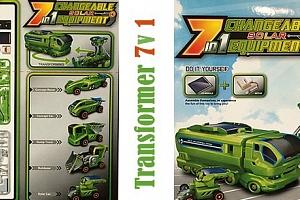 Skládačka 7v1 Transformer...