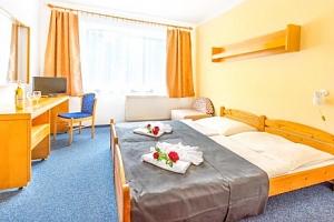 Františkovy Lázně: Hotel Zátiší *** s polopenzí a řadou wellness procedur...