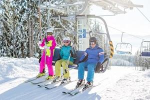 Černá v Pošumaví nedaleko ski areálu v Hotelu Racek *** s polopenzí a wellness...
