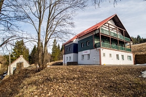 Hotel ***Star 1,2 v Krušných horách blízko Klínovce s wellness a polopenzí...