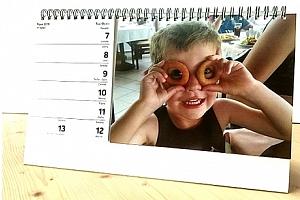 HIT SEZÓNY - Stolní týdenní kalendář - zvlášť část s týdny a část s fotkami....