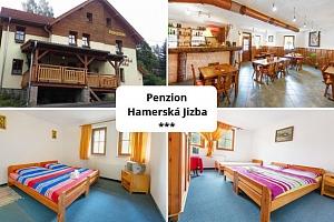 Hamerská Jizba v Krušných horách s polopenzí a platností až do září 2019...