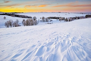 Krušné hory u Karlových Varů a ski areálů s polopenzí v Penzionu Viktorin...