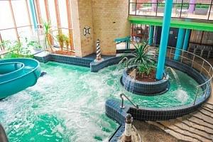 Györ v Land Plan Hotelu *** s polopenzí, saunou a vstupem do lázní Rába Quelle...