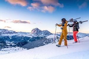 Lyžování v Dolomitech: Hotel Liberty Malé *** s polopenzí, skibusem a wellness...