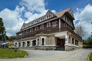 Hotel Spa Bílý Hořec s polopenzí a wellness od dubna do září...