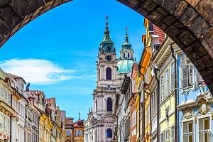 Hotel D`Angelo*** v centru Prahy se snídaní a dětmi do 5 let zdarma...