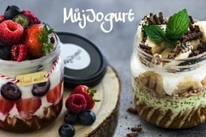 Lahodný jogurt přímo dle vaší chuti s osobním odběrem v Praze...