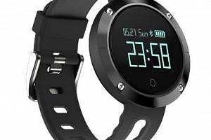 Fitness náramek DM58- smartband 5 barev SMW00023 Barva: Černá...