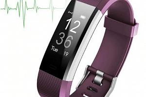 Smartband ID 115 PLUS HR SMW33 Barva: Fialová...