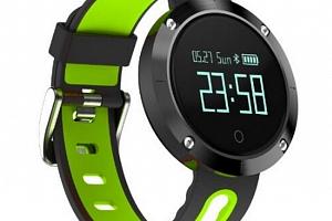 Fitness náramek DM58- smartband 5 barev SMW00023 Barva: Zelená...