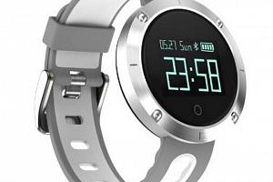 Fitness náramek DM58- smartband 5 barev SMW00023 Barva: Bílá...
