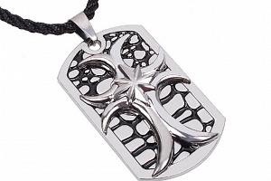 Náhrdelník z chirurgické oceli Jesus Christ cruces PN0000123...