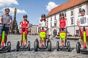 Projeďte se Olomoucí ve dvou na SEGWAY...