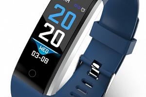 Ziskoun fitness náramek ID 115 Plus SMW00021 Barva: Modrá...