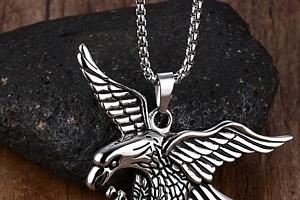 Orlice- náhrdelník z chirurgické oceli PN0000143...