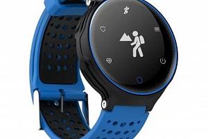Fitness náramek X2 SMW000014 Barva: Modrá...