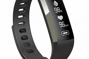 Fitness náramek M2 Plus- 4 barvy SMW000017 Barva: Černá...